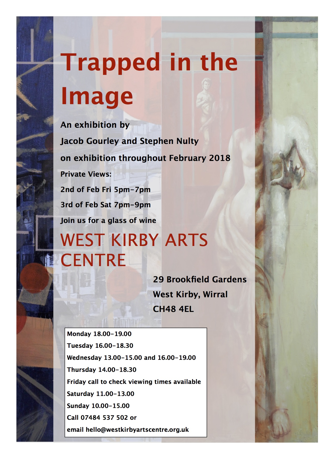 West Kirby Arts Centre: Trapped in the Image