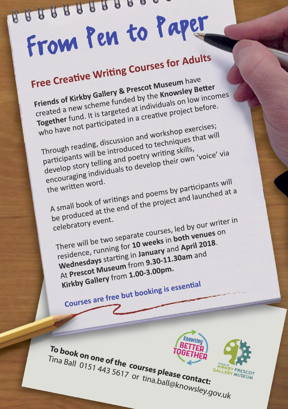 creative writing workshop ideas