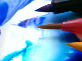 Walker Art Gallery: Experimenting with watercolour