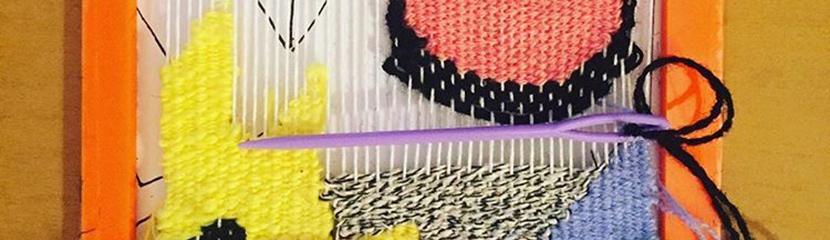 Walker Art Gallery: Saturday Studio: Weaving