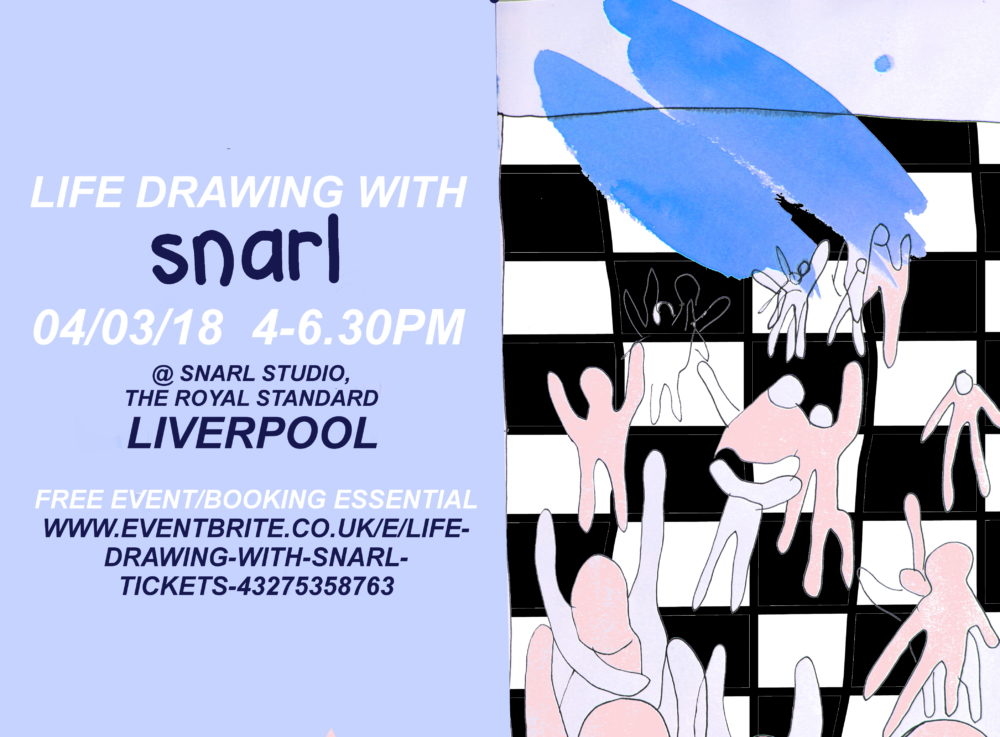 Snarl: Life drawing with Snarl