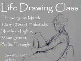 Hub Studio: Life Drawing Class