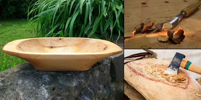 Make. North Docks: Introduction to Green Woodwork: Bowl Carving