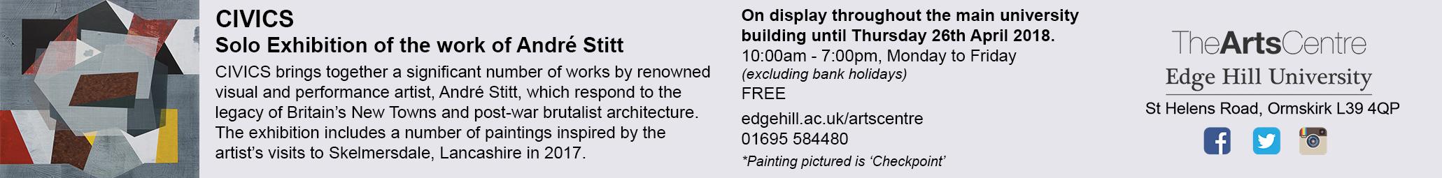 Broken image, click for CIVICs at Arts Centre, Edge Hill University