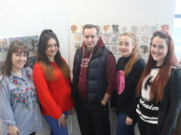 Pilkington Gallery: University Centre St Helens: Second year BA (Hons) Fine Art Painting exhibition