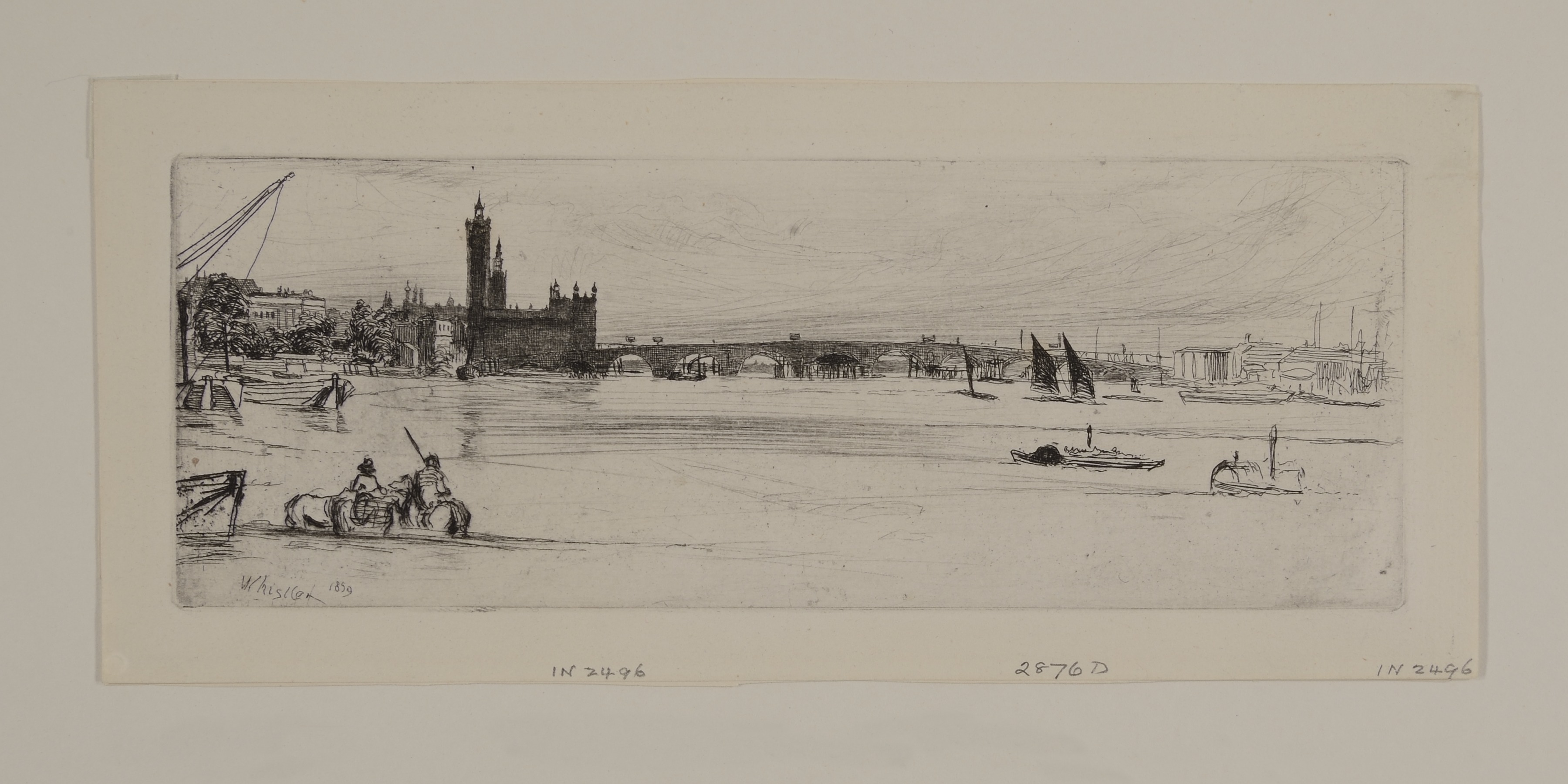 Lady Lever Art Gallery: Whistler and Pennell: Etching the City