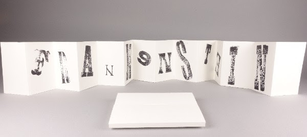 IB18: Kirkby Gallery: The Liverpool & Knowsley Book Art exhibition: Frankenstein 2018