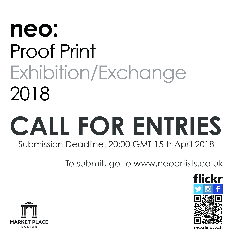 Neo Exchange: Neo: Proof Print Exhibition/Exchange