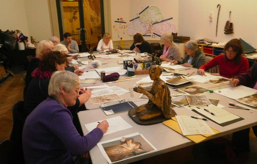 Williamson Art Gallery & Museum: Adult Art Classes