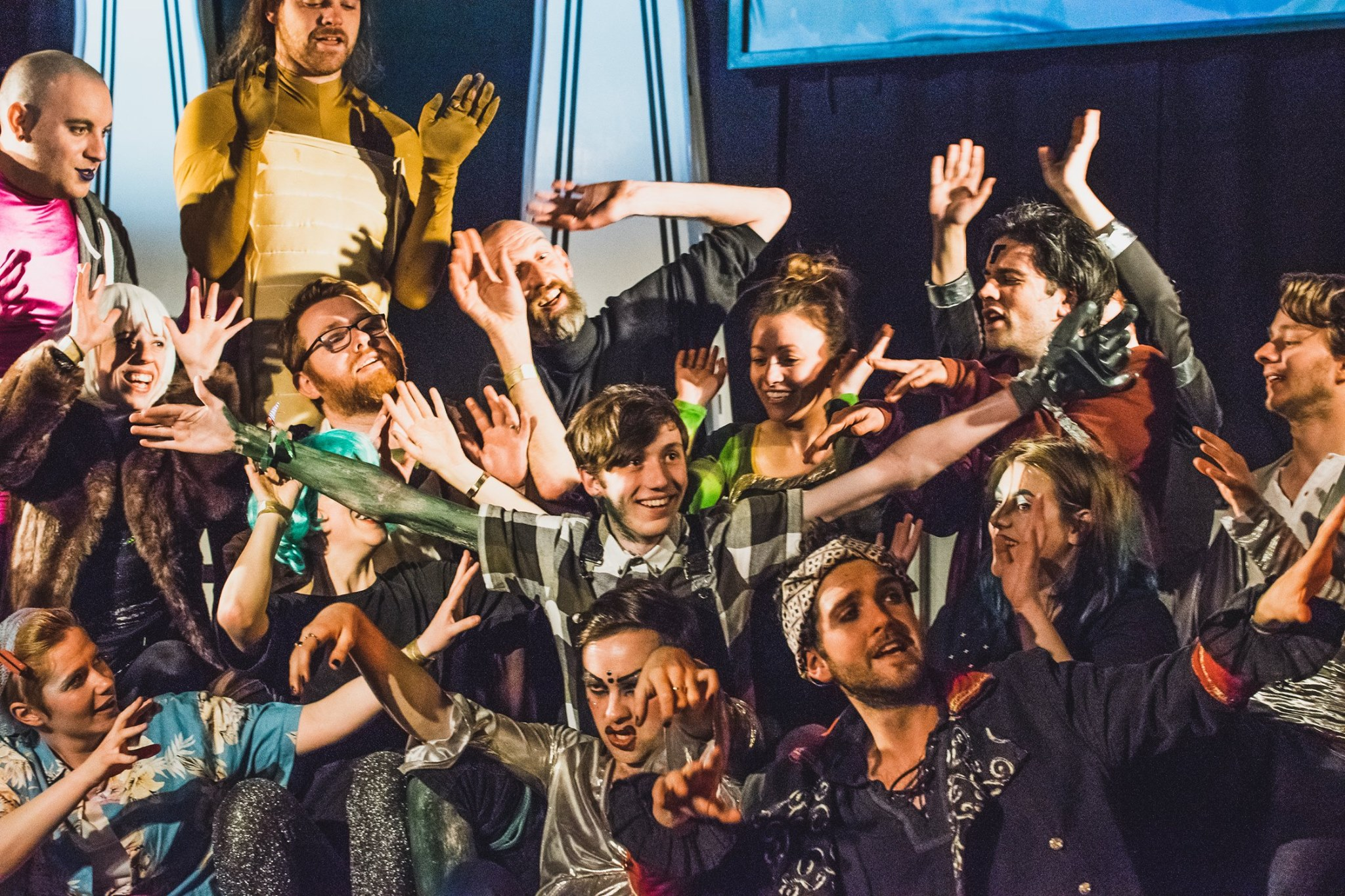 Tmesis Theatre: Physical Fest Workshops: Improvisation for Performers