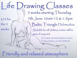 Hub Studios: Life Drawing Classes