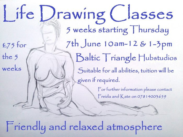 Hub Studios: Life Drawing Classes