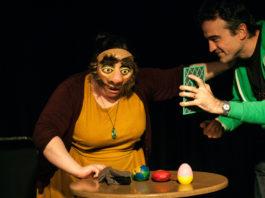 Tmesis Theatre: Physical Fest Workshops: Trance Masks- Simone Tani