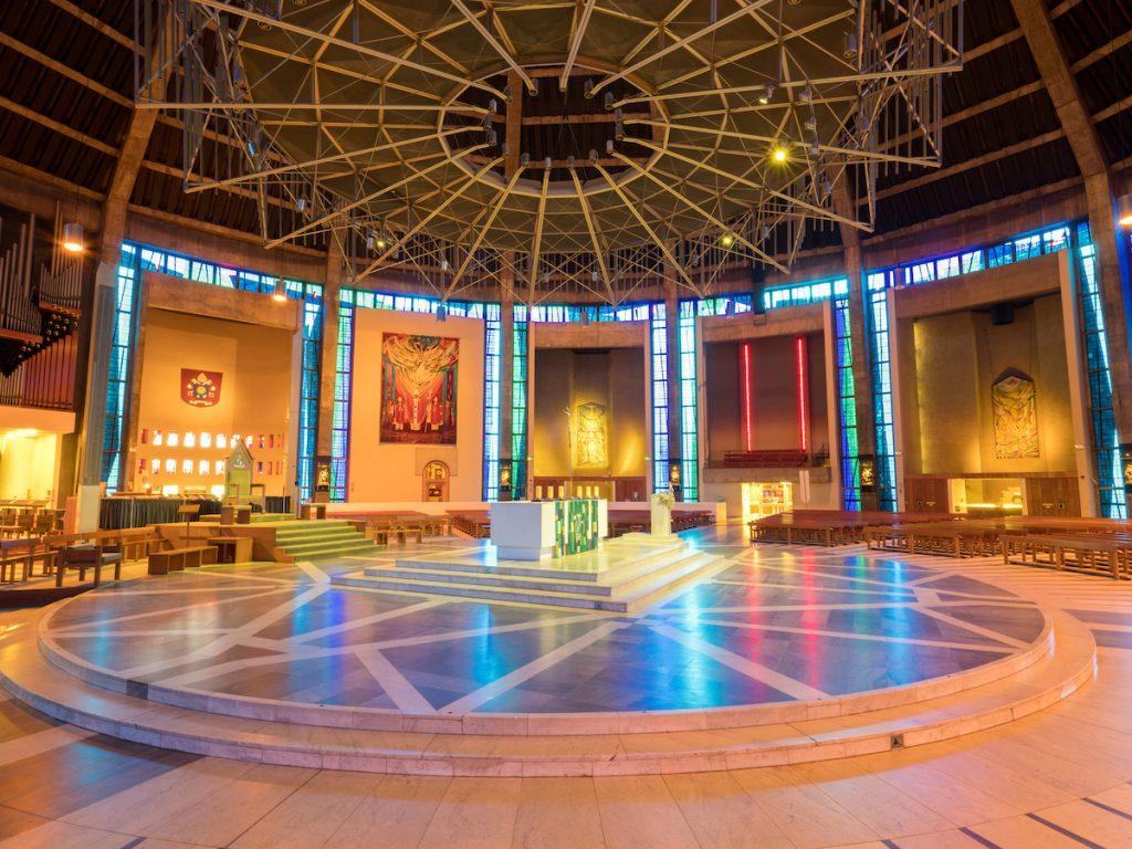 LightNight 2018: Metroplitan Cathedral: Bold as Brass