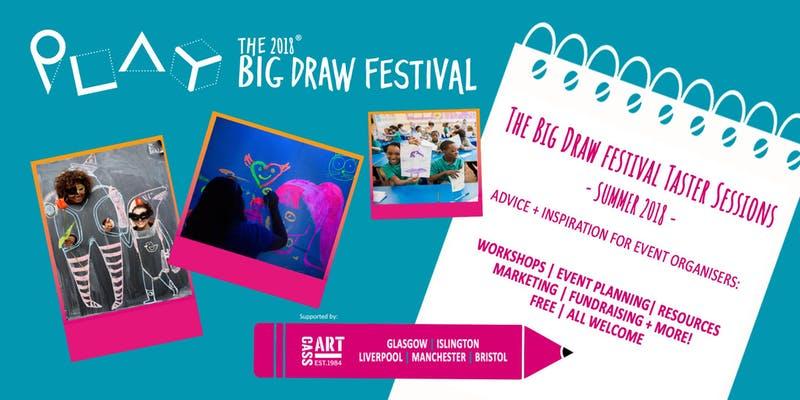 Cass Art: The Big Draw Festival 2018 Taster Session