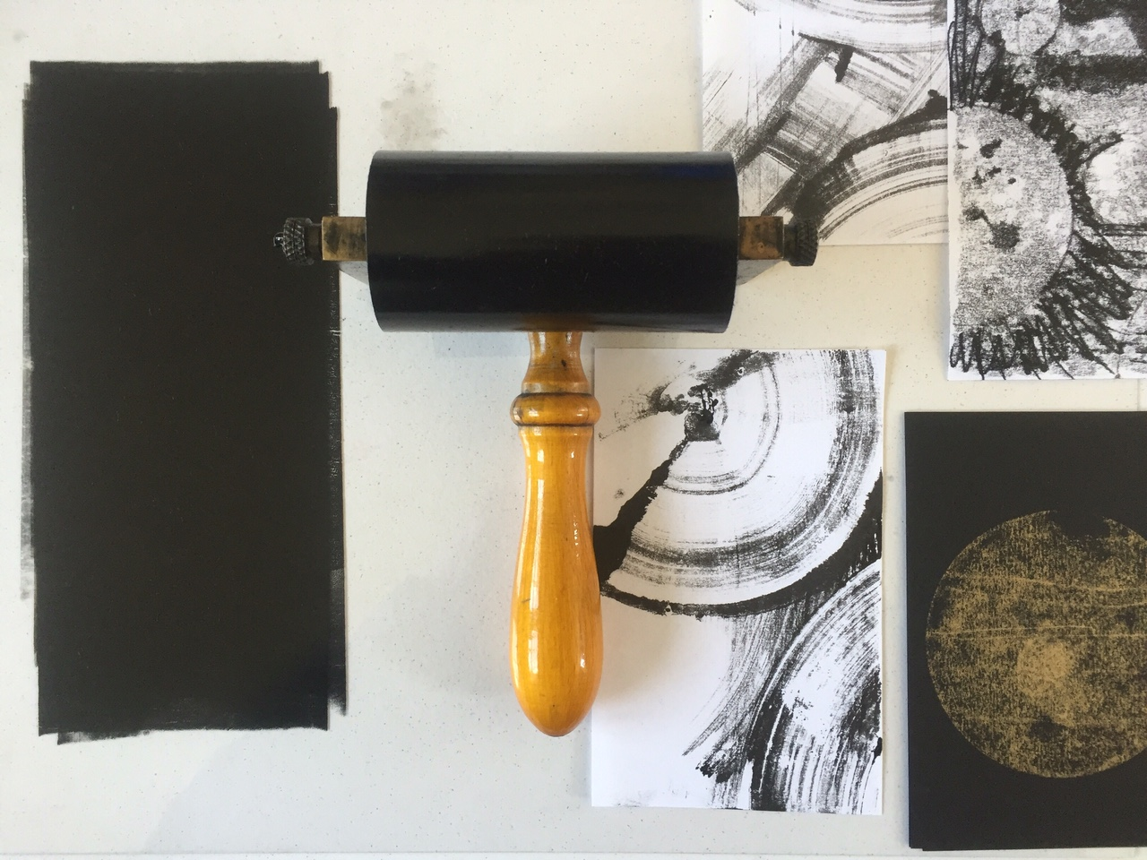 Cass Art: Monoprint workshop with Karen Edwards