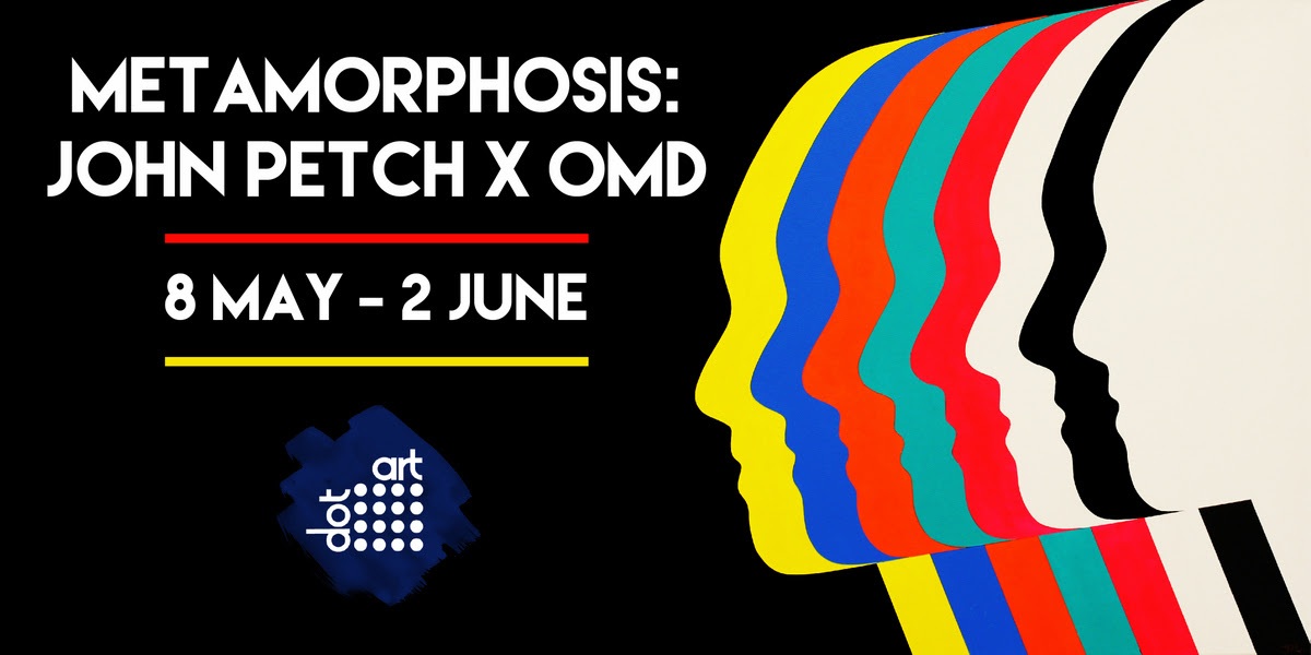 dot-art: Metamorphosis: John Petch x OMD