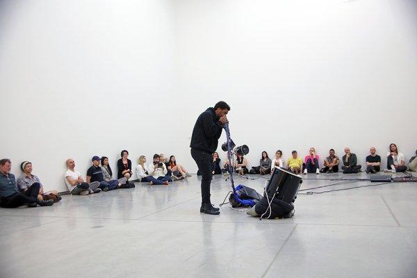 Tate Liverpool: Liverpool Biennial: Kevin Beasley Performance