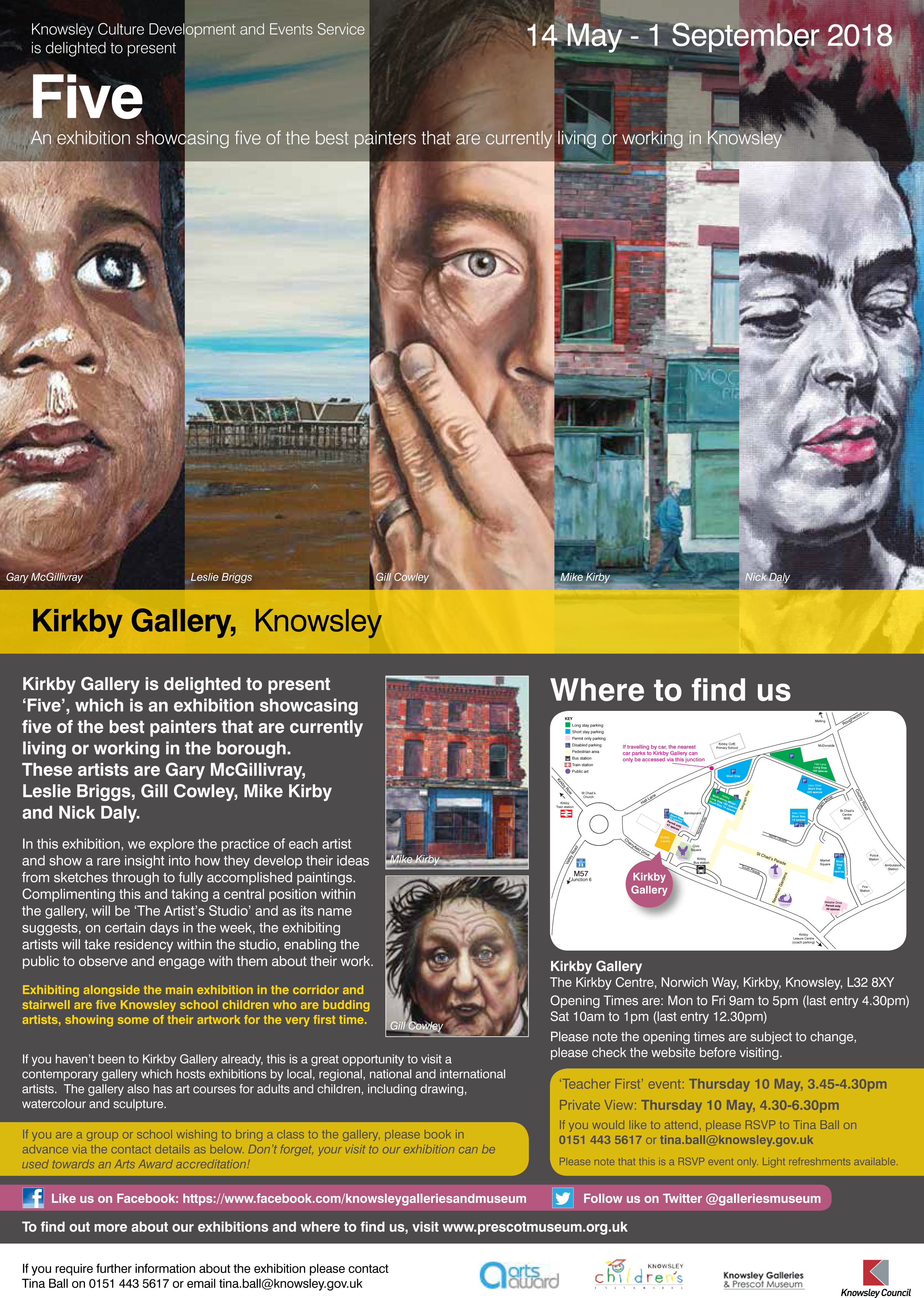 Kirkby Gallery: Five