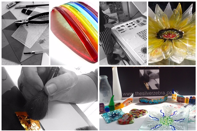 Silver Zebra Studio: Introduction to Fused Glass (1 day workshops)