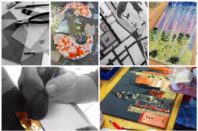 Silver Zebra Studio: 3 day in-depth fused glass course