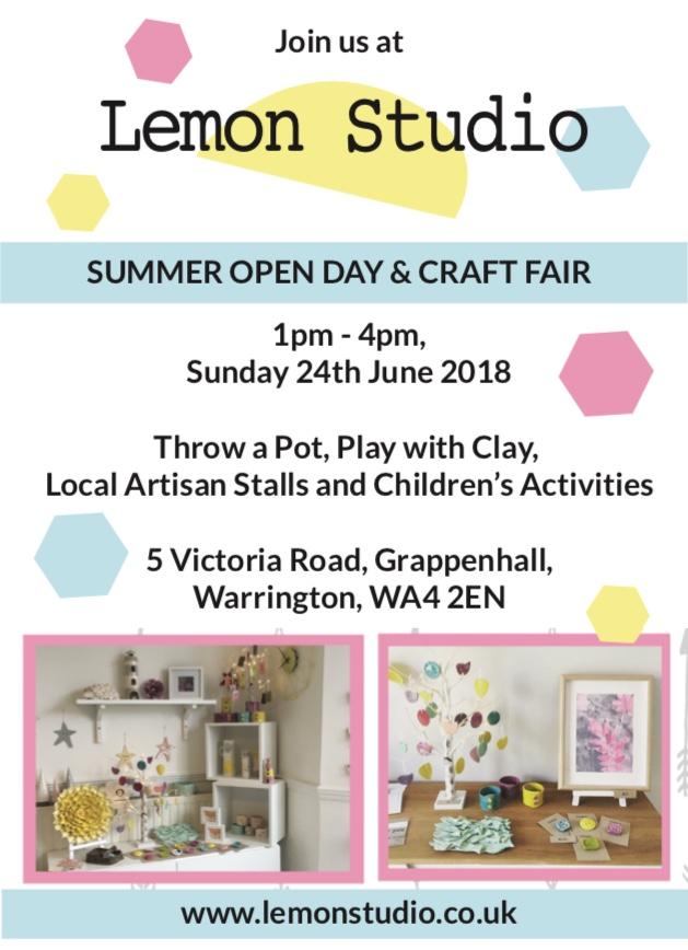 Lemon Studio: Open Day