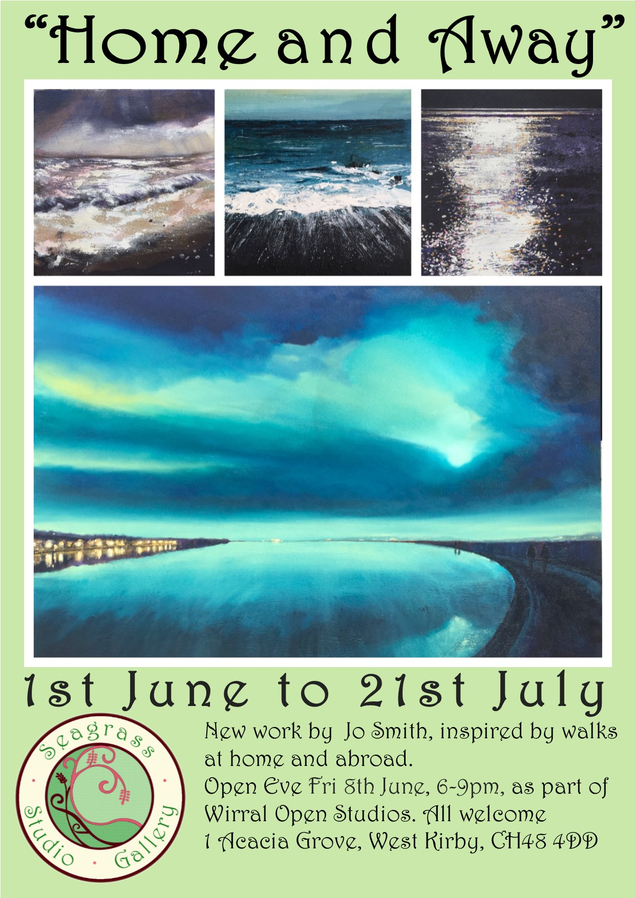 Seagrass Studio Gallery: Home and Away by Jo Smith