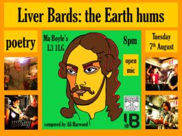 IB18: Ma Boyle's: Liver Bards: The Earth Hums