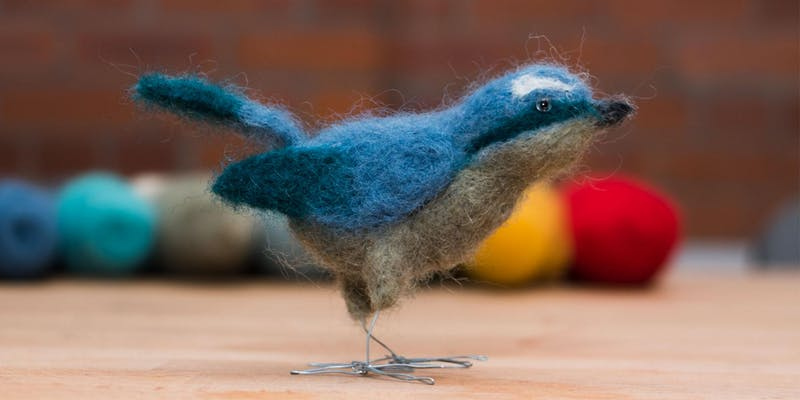 Make. Baltic: Needle Felting: Birds