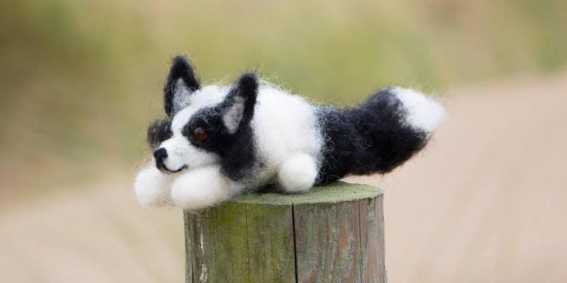 Make. Baltic: Needle Felting: Dogs