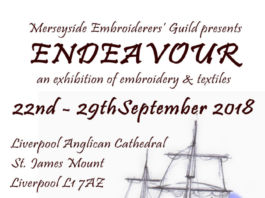 Liverpool Cathedral: Endeavour: Merseyside Embroiders' Guild