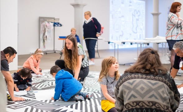 Liverpool Biennial 2018: Family Workshop at Victoria Gallery & Museum