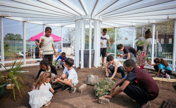 Resilience Garden: Liverpool Biennial 2018: Beautiful World Where Are You?