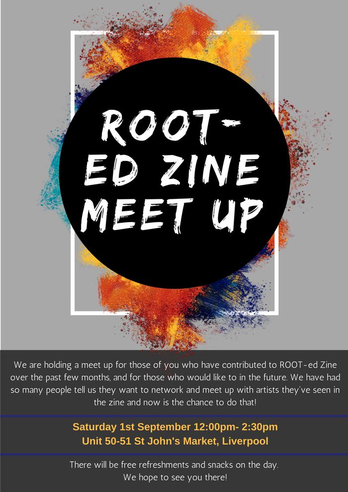 IB18: St John's Market: ROOT-ed Zine Meet Up
