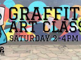 Zap Grafitti: Grafitti Art Class (Saturdays)