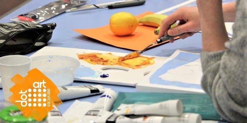 Bluecoat Chambers: dot-art: Oil Painting Techniques