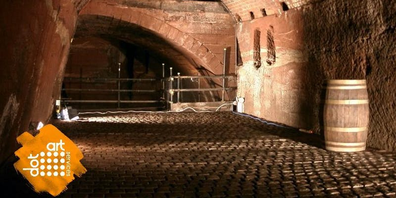 Williamson Tunnels: dot-art: Sketching in The Tunnels