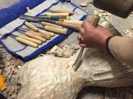 Faith Bebbington Studio: Wood Carving by dot-art