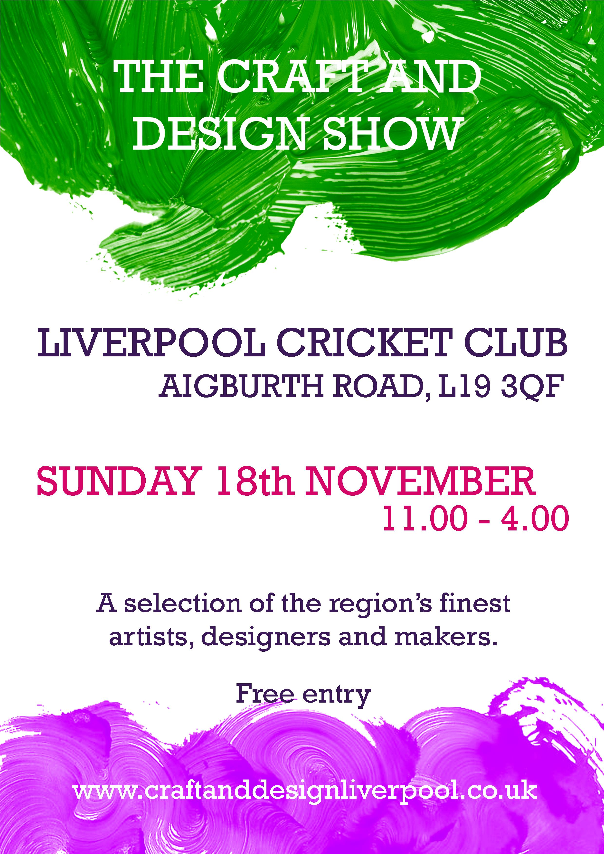 Liverpool Cricket Club: The Craft and Design Show