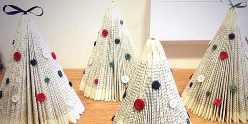 Metquarter: Festive Book Art Workshop: Christmas Trees