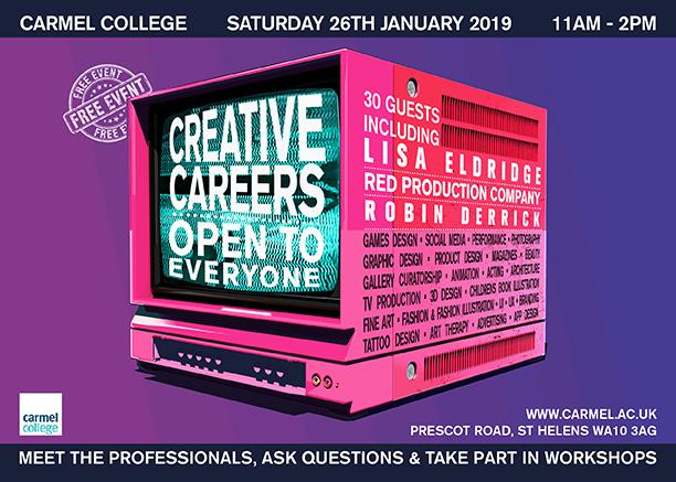Carmel College Creative Careers Event