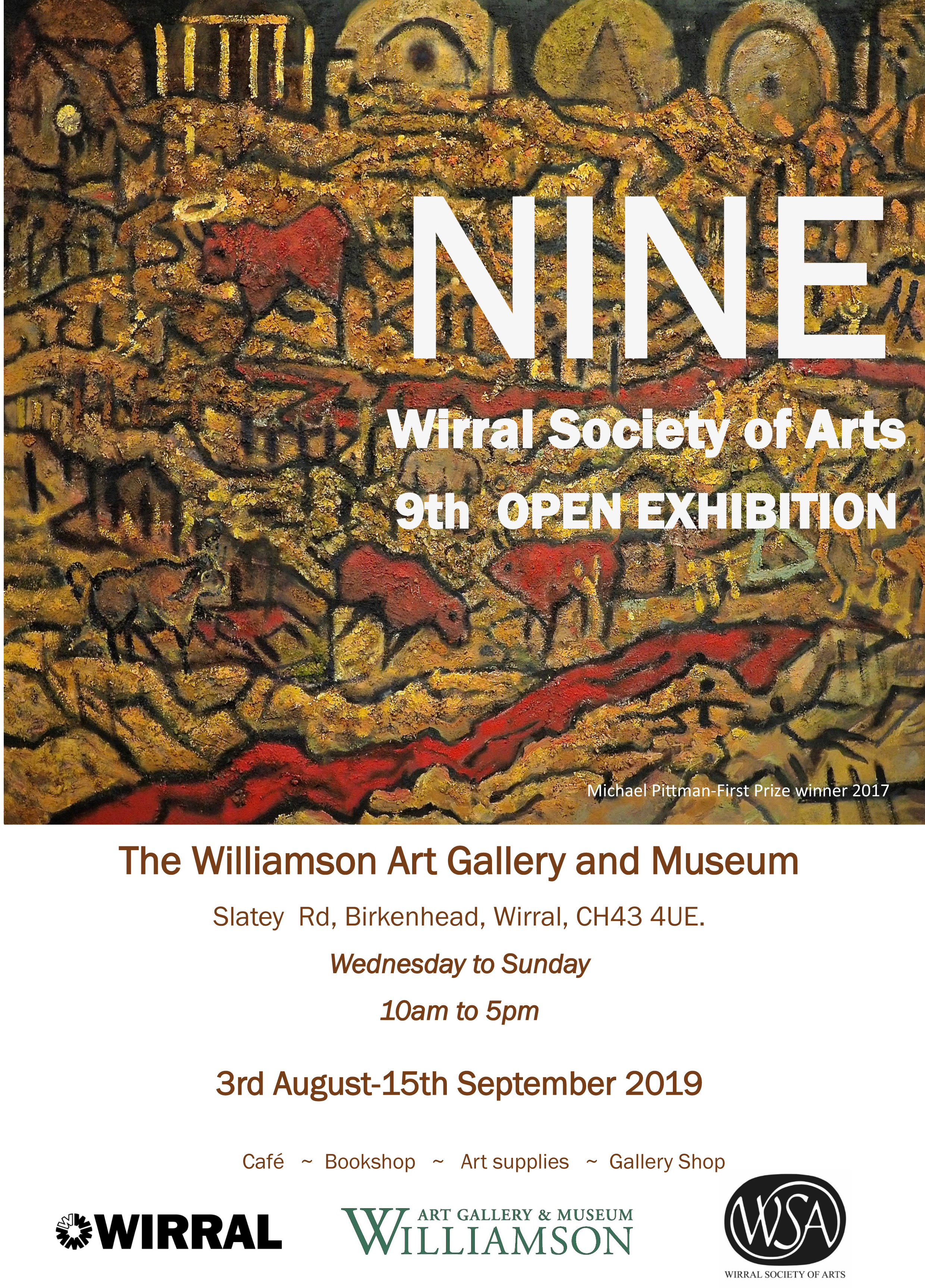 Williamson Art Gallery & Museum: Wirral Society of Arts 9th Open Exhibition