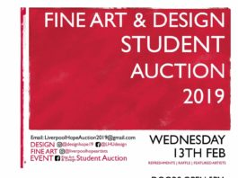 Cornerstone Building: Fine Art and Design Student Auction 2019