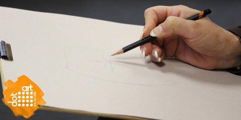 Metal: Drawing Techniques, dot-art