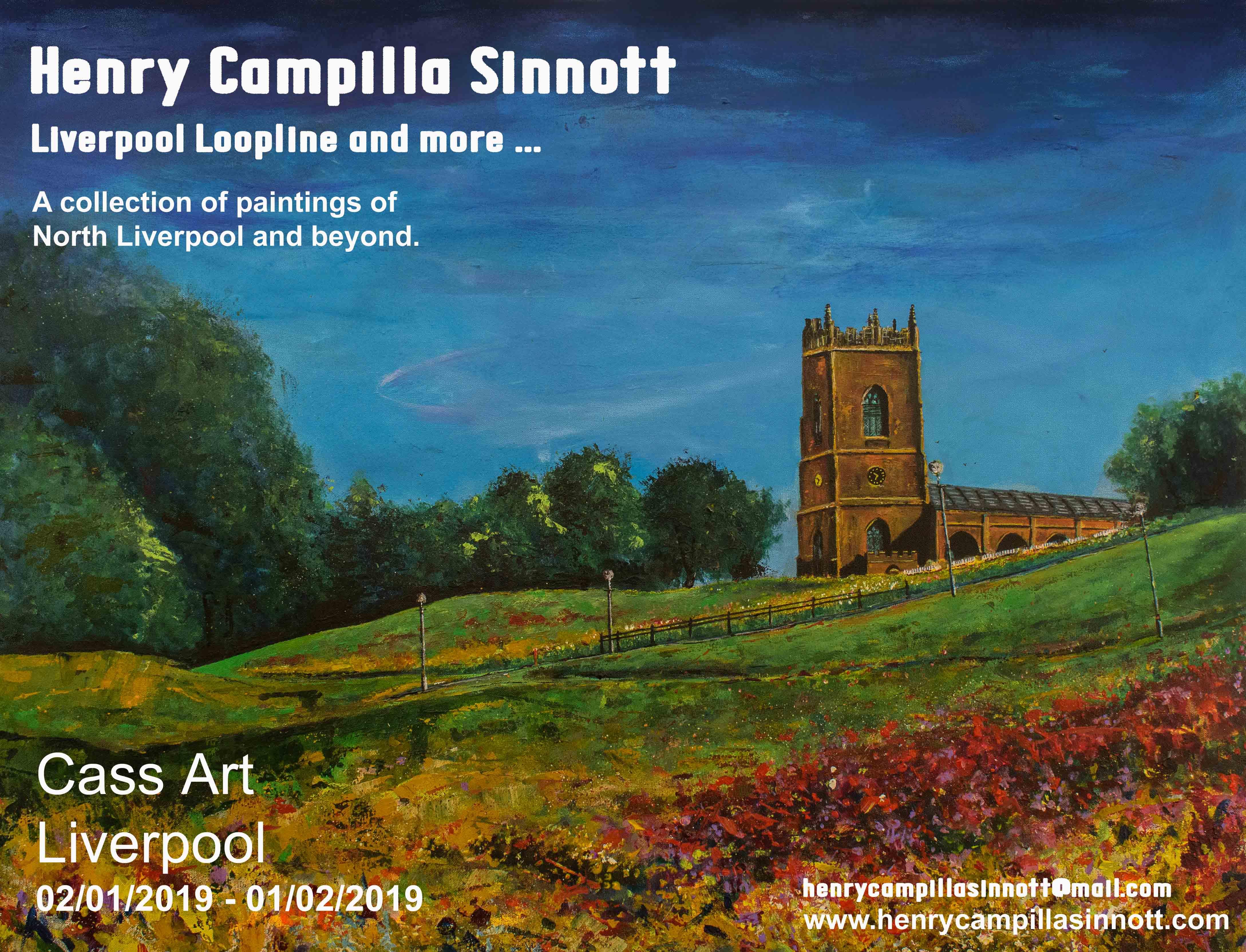 Cass Art: Henry Campilla Sinnott: Liverpool Loopline and more