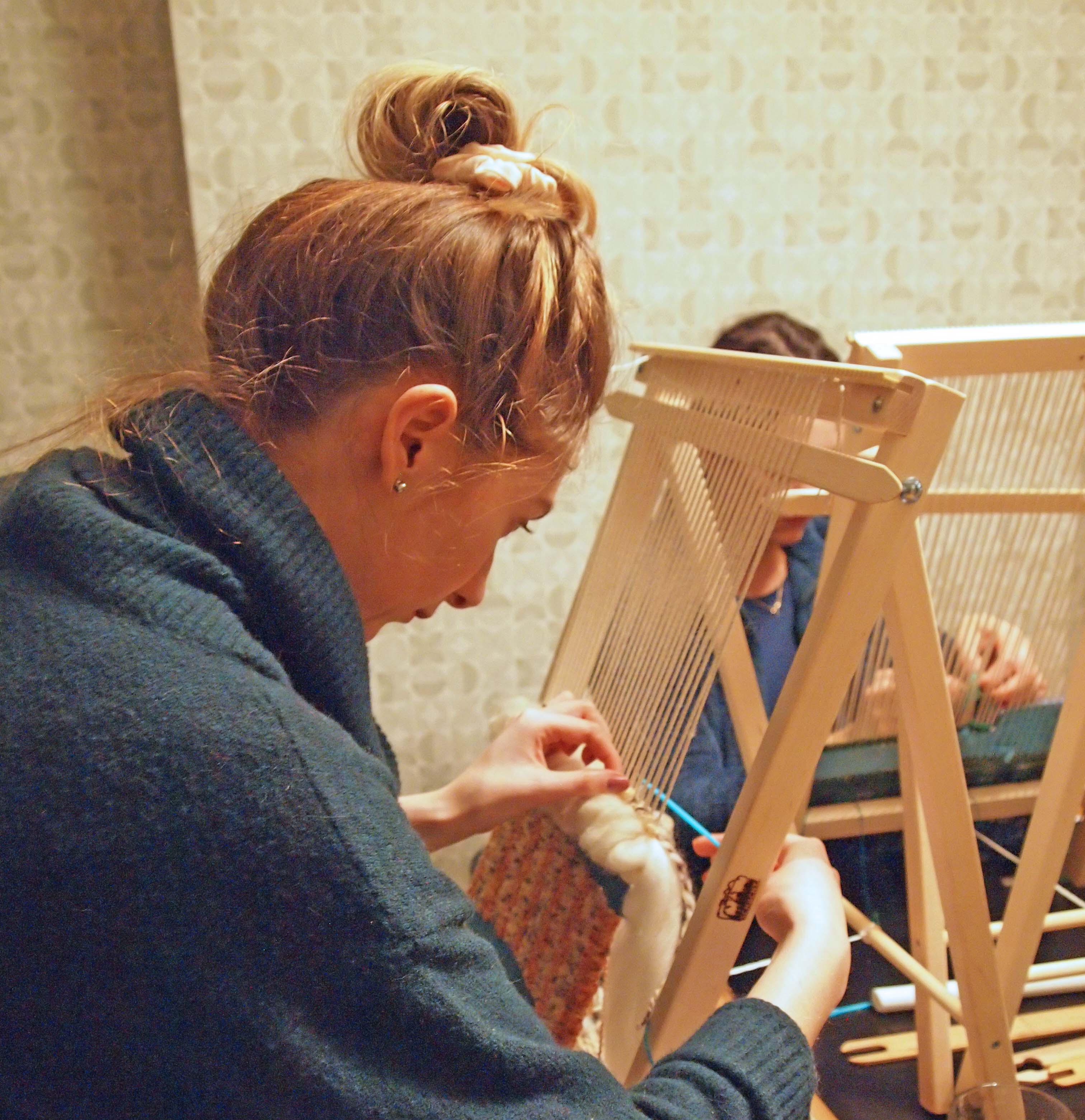 The Fashion Hub: Woollen Weave: Weaving Taster Class