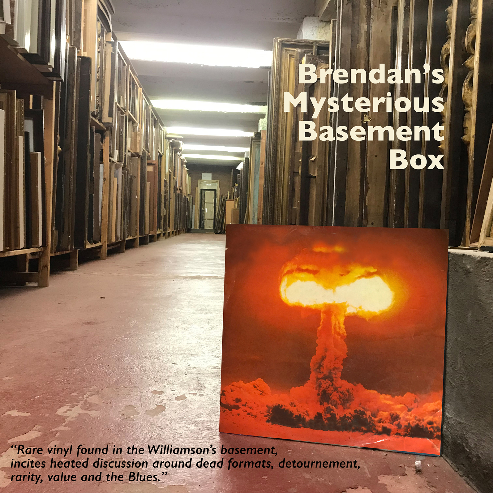 Williamson Art Gallery & Museum: Brendan's Mysterious Basement Box