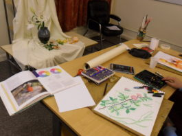 The Old Police Station: Art Tuition / Art Courses