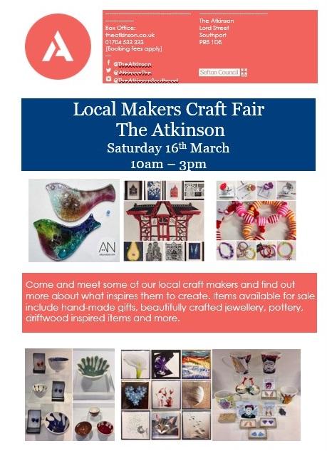 The Atkinson: Meet the Makers Craft Fair