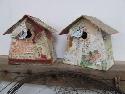 Bluecoat Display Centre: Bird box making workshop with Jennifer Collier